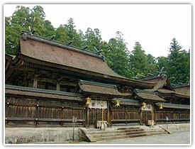 熊野三山の中心とされる荘厳な「熊野本宮大社」