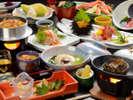 当館自慢の新鮮な海の幸!【夕食料理(夏)】鮑ふかひれプランの一例