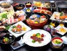 【秋の華やぎ会席】当館最高ランクの料理コース。(2019年9月1日~11月30日迄)