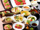 冬季限定企画★国産牛&ワイン豚のしゃぶしゃぶ食べ放題♪お寿司やお造り等他7品の和会席付き!