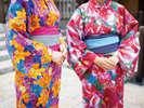 蜷川実花デザインのカラフルなオリジナル浴衣