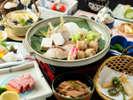 【旬彩会席 春!】瀬戸の春魚と美作山菜の旬彩焼き会席