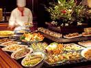 シェフが真心こめてもてなす美味しいお料理の数々に舌鼓・・・