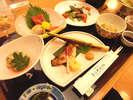 *青森の食材たっぷりのお夕食(一例)