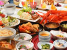 【バイキング】新鮮な蟹をご用意!ボリューム満点♪
