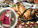 2017 クリスマス サンタブッフェ(※イメージ)