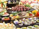 ブッフェ:2018初夏[瀬戸内海産鯛]鯛塩釜焼ステーキ海鮮丼食べ放題※イメーシ゛