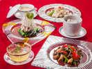 中国料理「藍海」の夕食コース