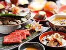 【夕食一例】会津の郷土料理をお楽しみください。