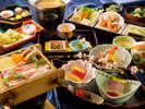 """薩摩が育てた""""うんまか食材""""新鮮さと美味しさにこだわった<本場仕込みの会席料理>をご提供♪"""