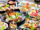 【極み会席 一例】これ以上はない『鹿児島の極上食材』を使う、料理長が『技の粋を尽くす』特別会席