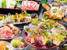 """【さつま食会席】『薩摩牛♪黒豚♪薩摩鶏♪』薩摩が育てた""""うんまか食材""""の<会席料理>♪"""