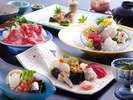 """【寿司懐石】関西屈指の魚介の宝庫""""由良漁港""""に水揚される鮮魚を中心に料亭で。"""