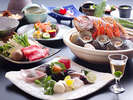【春の膳】春の淡路の鮮魚と山里の幸をメインにちりばめた地産地消の旬のディナーコース。