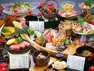 松茸はじめ秋の味覚満載!の旬会席、能登、加賀、そして金沢、石川の味覚を満喫できます。