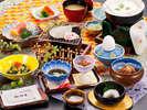 郷土料理すいぜんや温泉玉子・・ボリューム満点のお部屋食朝食の一例