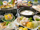 【スタンダード鍋会席】~温泉豆乳とうふ~人吉の食をくつくつ煮込んだ、味わい冬鍋