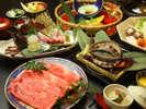 至福の三大食材を味わうプレミアム会席プラン(イメージ)