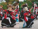 【鬼剣舞(おにけんばい)】北上地域に伝わる、迫力ある伝統芸能です。