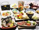 【季-toki☆春の会席】彩り鮮やかな旬の食材をご堪能ください。