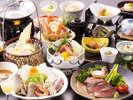【風-kaze 冬の会席】人気No1コース!魚介もお肉も頂けるグルメ会席
