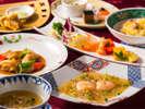 中国料理 沙山華コース料理一例