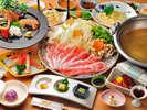 【三河秀麗豚会席】メイン料理:秀麗豚しゃぶしゃぶ ※写真はイメージ