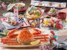 【料理】レストラン「季の蔵」蟹一杯付会席(2017年4月から2017年9月までの献立例)<イメージ>