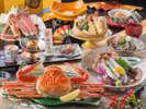 【料理】レストラン「季の蔵」蟹三昧会席(2017年4月から2017年9月までの献立例)<イメージ>