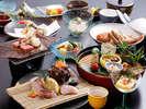 三七十料理長が毎日選りすぐる!旬の食材が並ぶ、日替わり懐石料理★※写真はイメージになります。