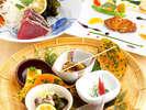 里山野菜や新鮮なお造りをご堪能下さいませ。