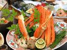 【冬・焼き蟹】噛めば噛むほどに蟹の旨みが口いっぱいに広がります。 ※イメージ-