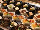 【有馬四季菜ブッフェ・デザート】種類が豊富でどれも美味しいと口コミでも好評。 ※イメージ-