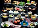 【特選会席】神戸牛の他、旬の美味食材で贅沢かつ上品に仕上げました。 ※イメージ
