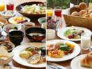 【朝食・バイキング】和洋約40種類の品数が自慢!※イメージ