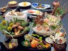 【秋彩・旬づくし】料理長が腕を振るう特撰会席料理 ※イメージ