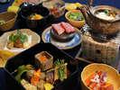 厳選和牛や明石の海鮮を使った贅沢な会席料理☆