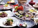 【季節の逸品会席】淡路島の旬彩をちりばめたお料理コース ≪料理イメージ≫