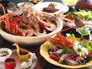 秋にはその旨みがより増す紅葉鯛と9月から本格的な旬を迎える伊勢海老≪料理イメージ≫
