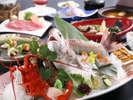 【季節の逸品会席】淡路島の旬彩をちりばめたお料理コース≪料理イメージ≫