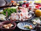 質・量ともに粋を極めた淡路島3年とらふぐをとことん味わい尽くす至高の一本喰いコース≪料理イメージ≫