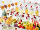 ◆豊富なラインナップのデザートコーナー