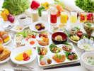 【エルバージュ】朝食◆目玉はフワフワのフレンチトースト!和洋派どちらにもうれしい♪