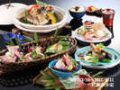 2017春料理(美味少量)2017/3/16~2017/6/11提供予定 写真はイメージです。