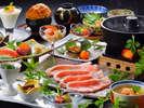 【最優秀賞の米の娘豚】山形自慢のホエー米の娘豚を使用した和食膳※旬の素材により料理内容異なります