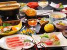 【米の娘ぶた旬のお造り】米の娘ぶたと旬のお刺身をメインした和食膳※旬の素材により料理内容異なります