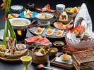 秋季限定☆名月の膳のお料理☆
