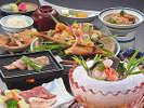 初夏限定のんびり温泉プランのお料理☆