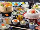 夏季限定のんびり温泉プランのお料理☆彡