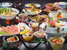 冬の温泉美食プランのお料理☆